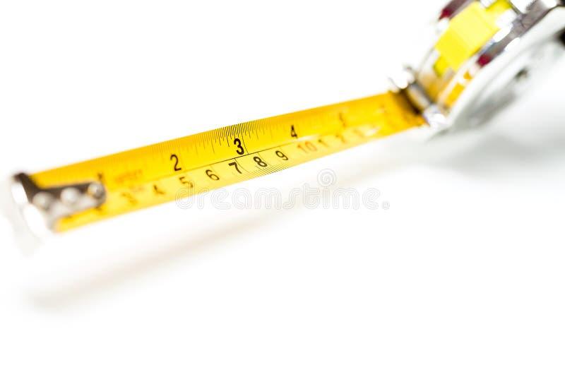 Ruban de bande de mesure de chrome photo libre de droits