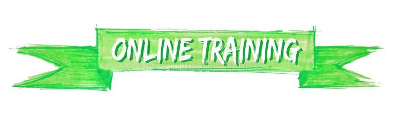 ruban de formation en ligne illustration libre de droits