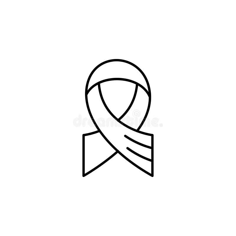ruban, icône d'ensemble de la mort ensemble détaillé d'icônes d'illustrations de la mort Peut ?tre employ? pour le Web, logo, l'a illustration libre de droits