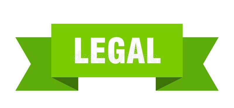 ruban juridique illustration libre de droits