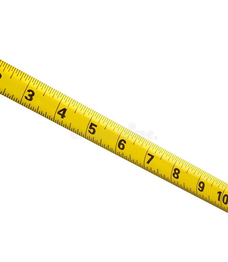 Ruban métrique de centimètre photo libre de droits