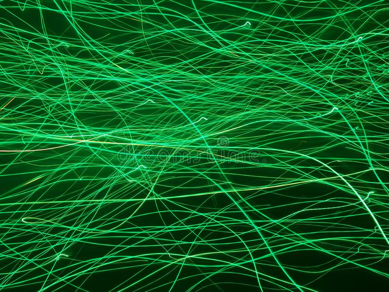 Rubans légers de technologie énergétique images libres de droits