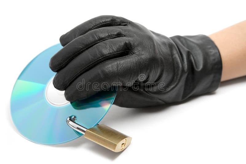 Rubare i dati fotografia stock libera da diritti