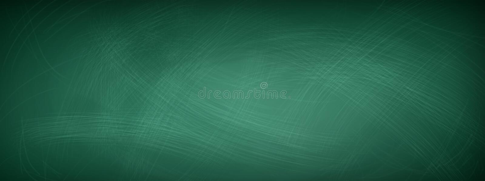Rubbed out chalk on a greenboard - background concept royalty free stock photo