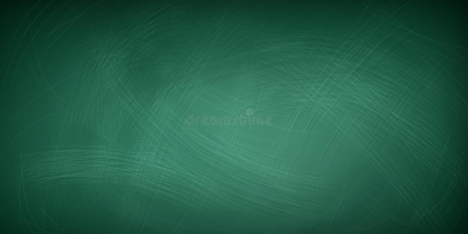 Rubbed out chalk on a greenboard - background concept royalty free stock photography