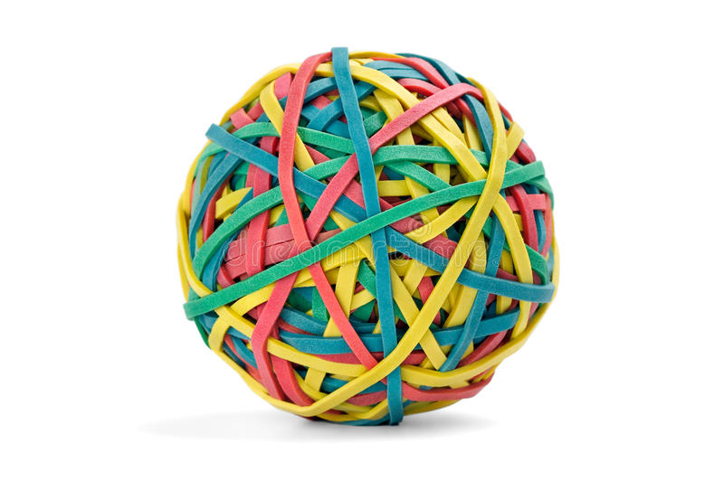 Download Rubber band ball stock image. Image of shot, object, round - 11662807