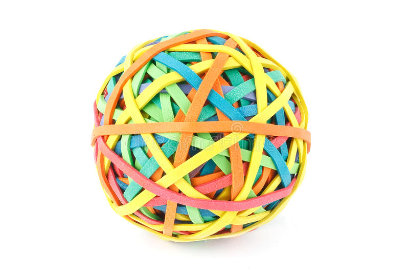 how to create a rubber band ball