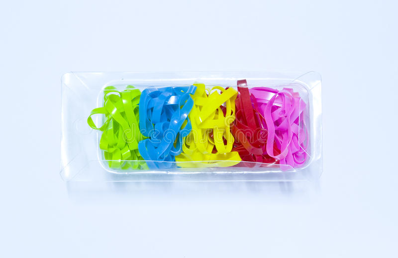 Rubber Bands royalty free stock image