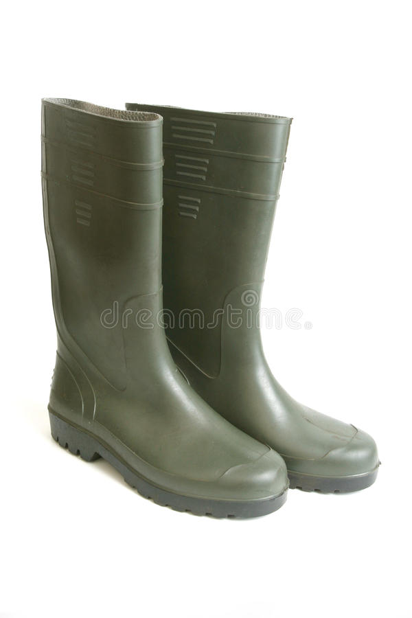 Free Rubber Boots Royalty Free Stock Image - 15000526