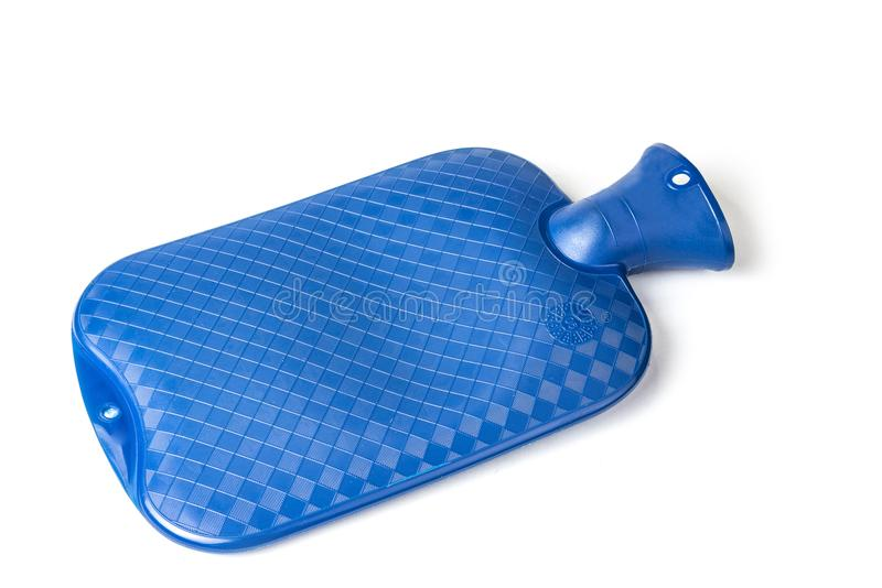Rubber Bottle Cold and Hot Water Bag. Body Heat Massage. Pain Relaxing Treatment. Rubber Bottle Cold and Hot Water Bag. Body Heat Massage. Pain Relaxing stock photography
