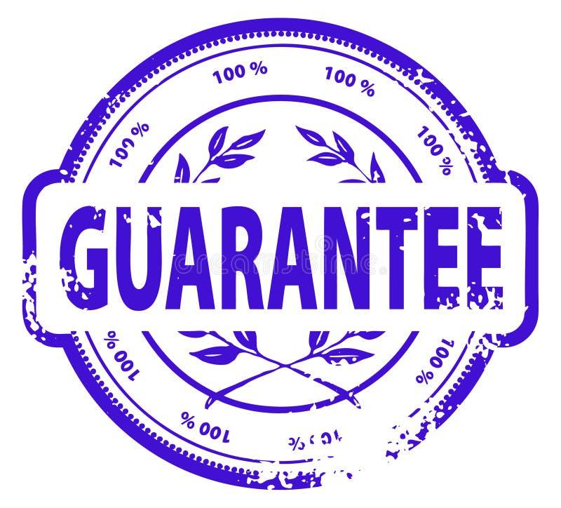Rubber de inktzegel van Grunge royalty-vrije illustratie