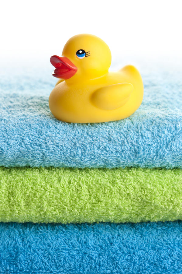 Download Rubber duck stock photo. Image of blue, stack, yellow - 20975398