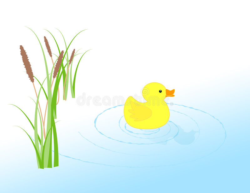 Download Rubber Ducky stock illustration. Image of cartoon, duck - 90896