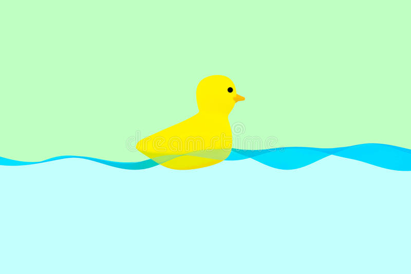 Download Rubber ducky stock illustration. Illustration of background - 31501428