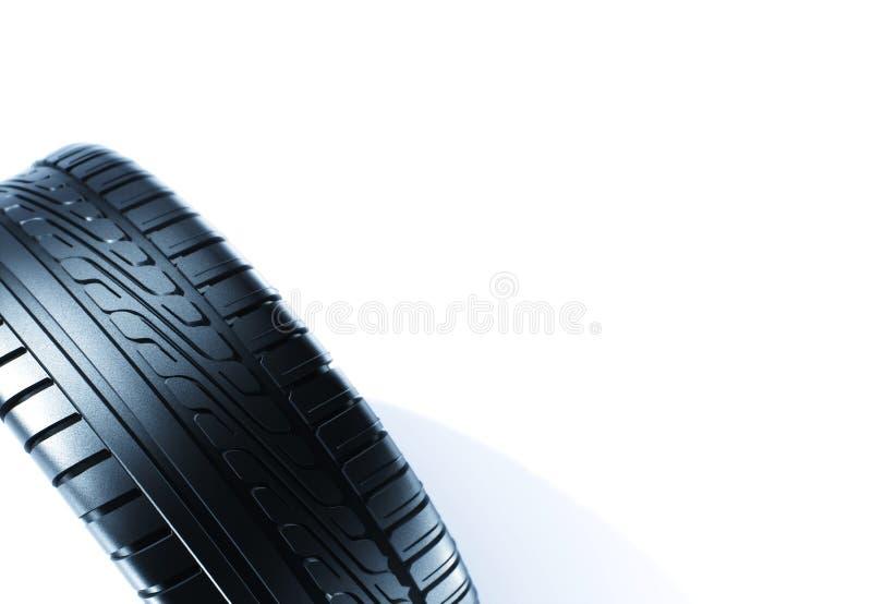 rubber gummihjul royaltyfri illustrationer