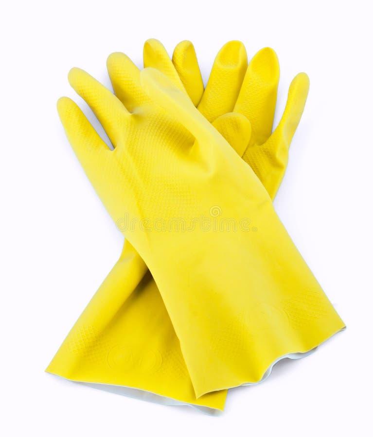 Rubber handschoenen stock fotografie