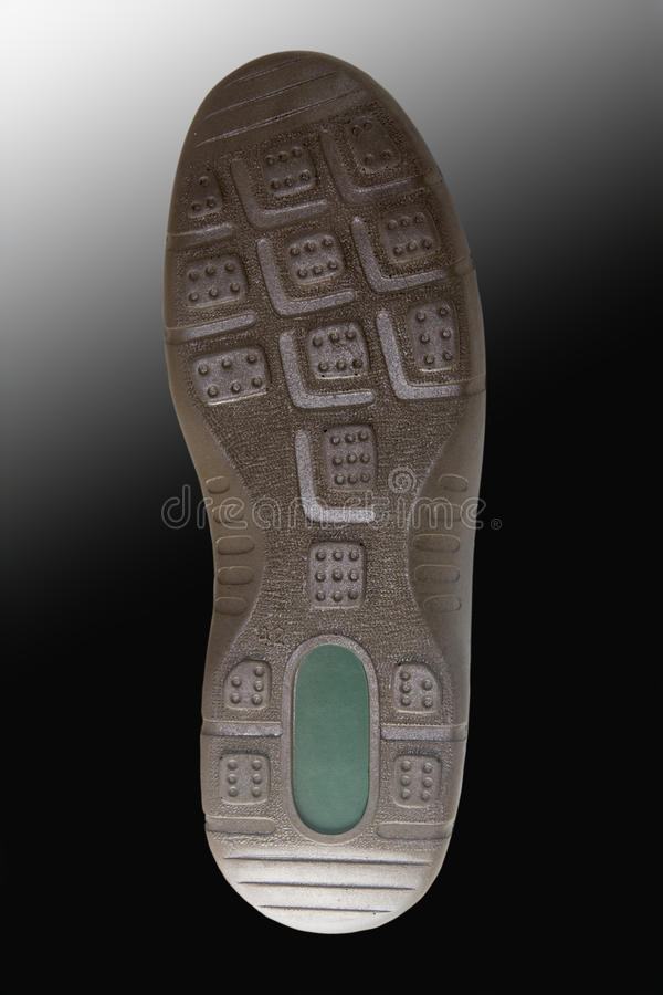 Rubber-soled shoe royalty free stock photos