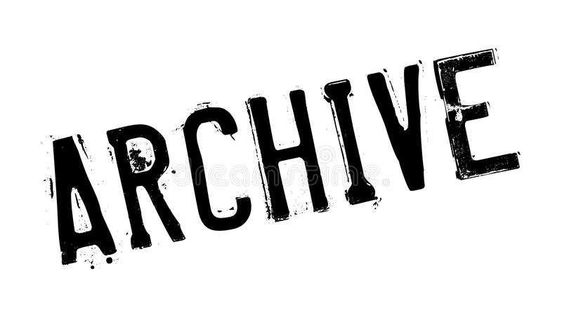 Rubber stämpel för arkiv arkivbild