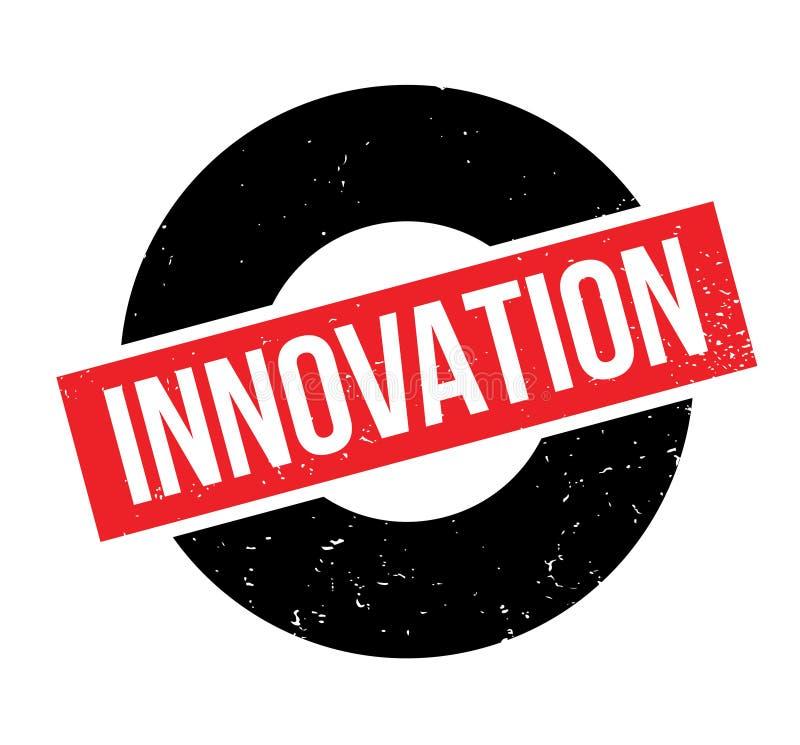 Rubber stämpel för innovation vektor illustrationer
