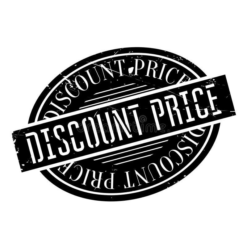 Rubber stämpel för rabatterat pris stock illustrationer