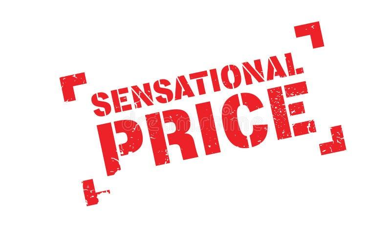 Rubber stämpel för uppseendeväckande pris stock illustrationer
