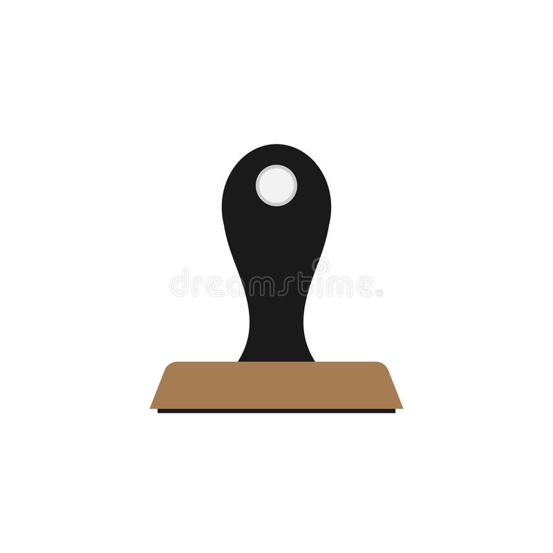 Rubber Stamp icon vector illustration