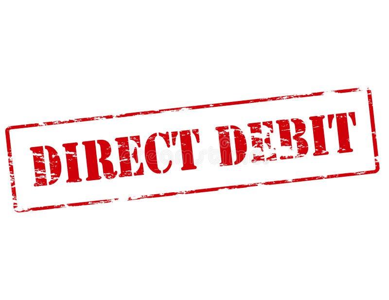 Direct debit stock illustration