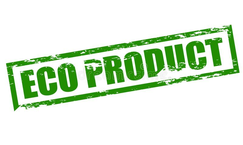 Eco product royalty free illustration