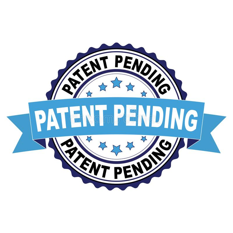 Free Rubber Stamp With Patent Pending Concept Royalty Free Stock Photos - 121076658