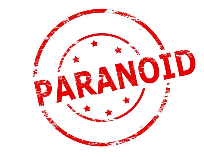 Paranoid stock illustration