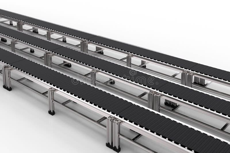 Rubber transportband stock illustrationer