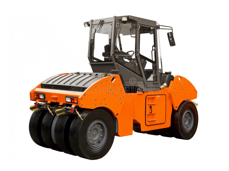 Rubber-wheeled roller stock images