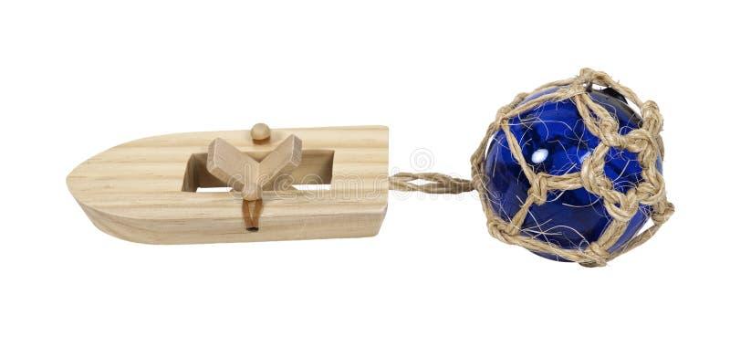 rubberband för fartygfloatexponeringsglas royaltyfri bild