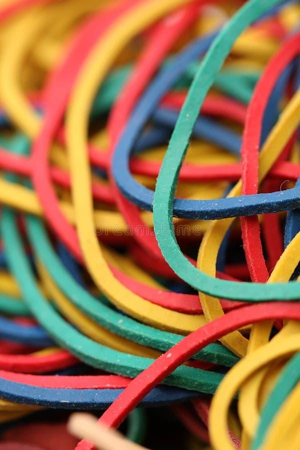 rubberbands 库存照片