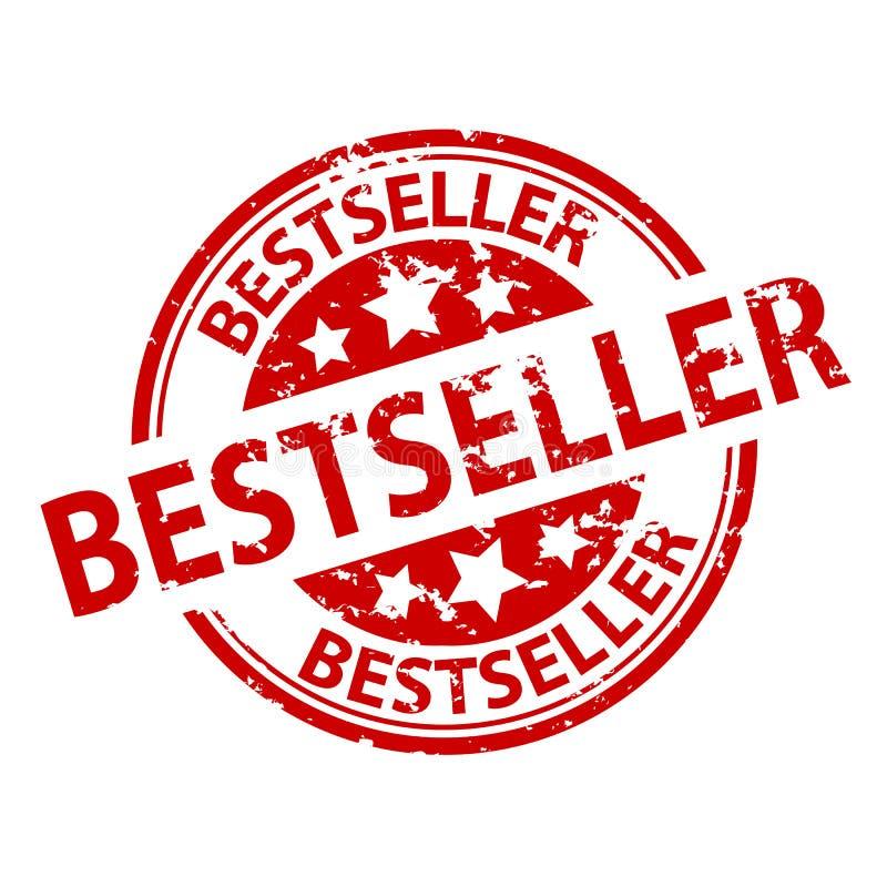Rubberzegelverbinding - Best-seller vector illustratie