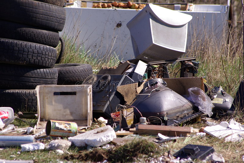 Download Rubbish stock photo. Image of metallic, digital, material - 5097900