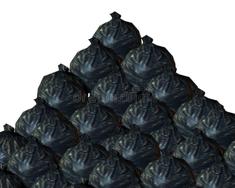 Download Rubbish Background stock illustration. Image of dump, background - 7403051