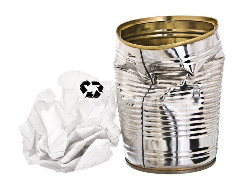 Rubbish for re-cycling royalty free stock images