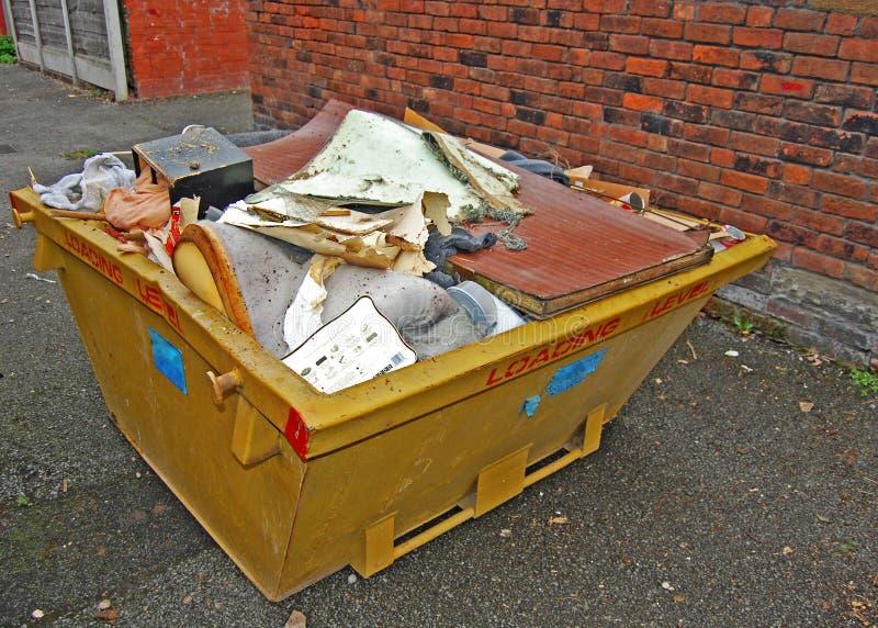 Rubbish skip