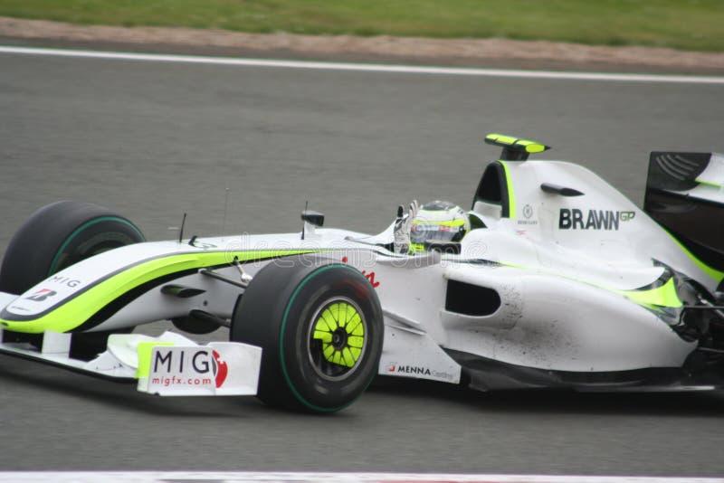 Rubens Barrichello imagem de stock