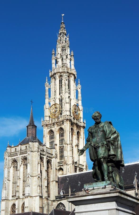 Rubens em Antuérpia imagem de stock royalty free