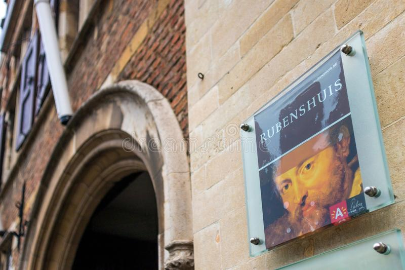 Rubenshuis Αμβέρσα Βέλγιο στοκ φωτογραφίες με δικαίωμα ελεύθερης χρήσης