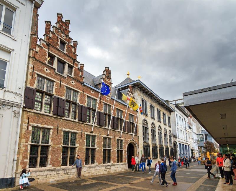 Rubenshuis Antwerpen stock afbeelding