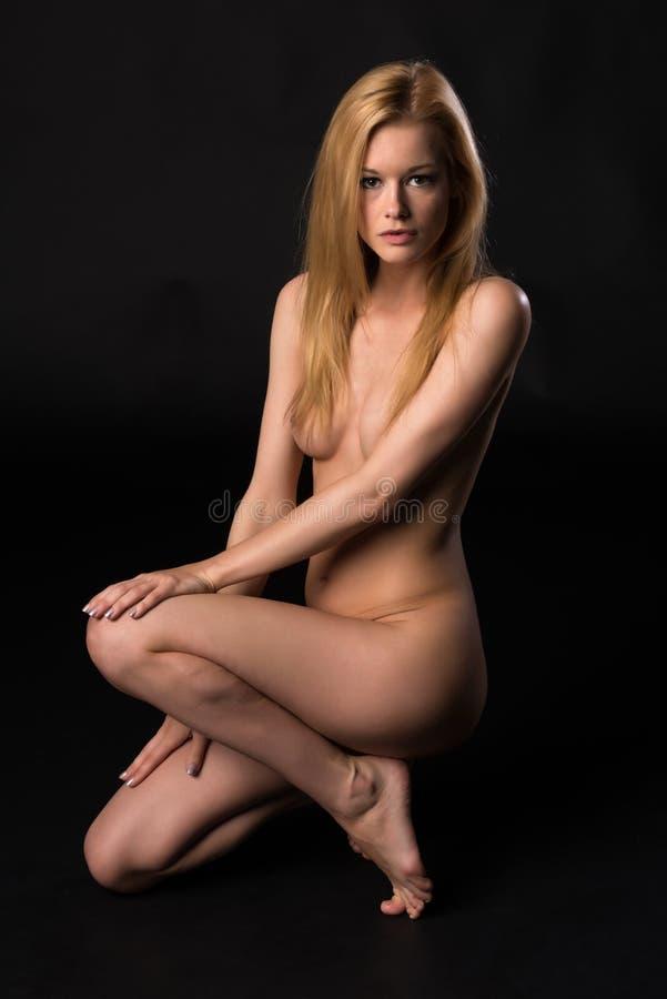 Download Rubia foto de archivo. Imagen de fino, topless, muchacha - 41914520