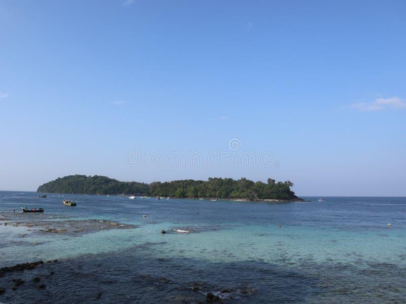 Rubiah逃出克隆岛  免版税库存照片