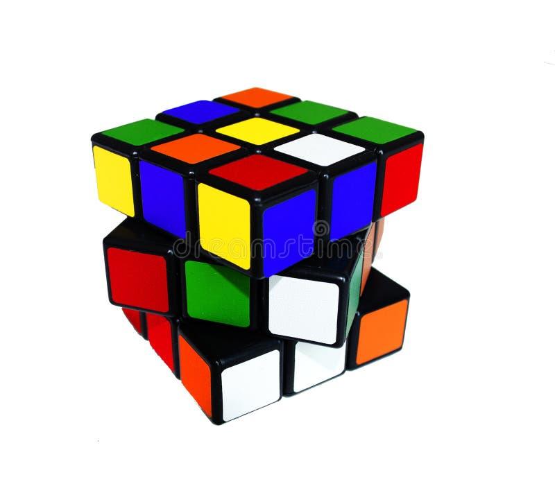 Rubic colorido imagen editorial. Imagen de piense, cerebro - 45894180