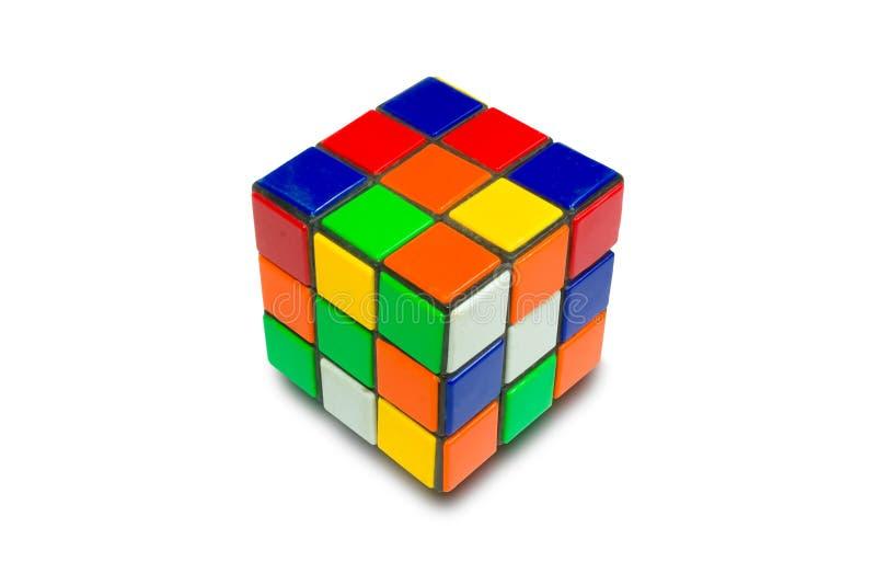Rubic kub royaltyfri foto