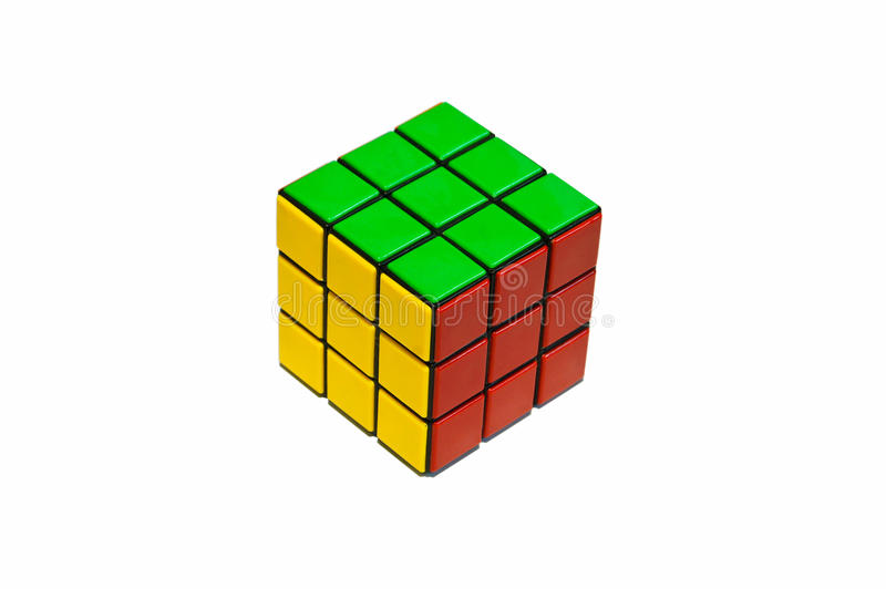 Rubik. Challenge game for everyone stock images