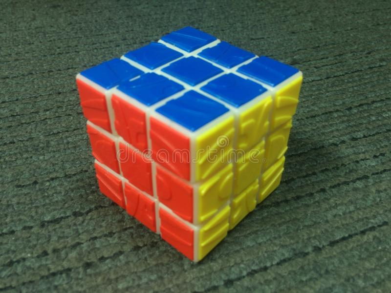 Rubik& x27; brinquedo de s fotos de stock royalty free
