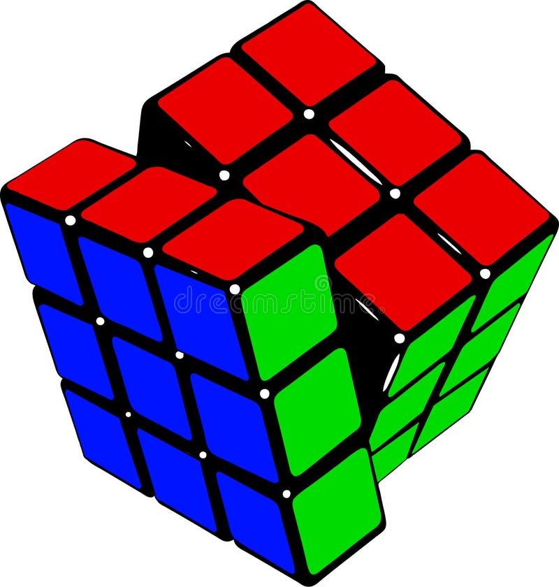 Rubik Cube Editorial Image